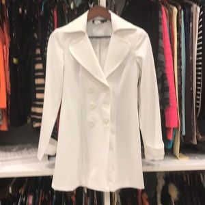 Jackets & Blazers - White Trench coat.